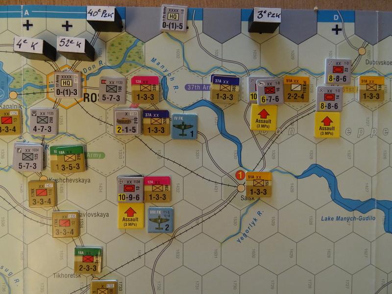 [CR] The Caucasus Campaign (GMT Games) : Drang Nacht Caucasus ! Dsc01820