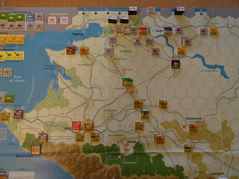 [CR] The Caucasus Campaign (GMT Games) : Drang Nacht Caucasus ! Dsc01822