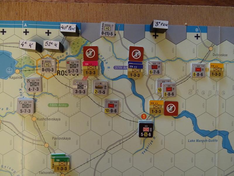 [CR] The Caucasus Campaign (GMT Games) : Drang Nacht Caucasus ! Dsc01823