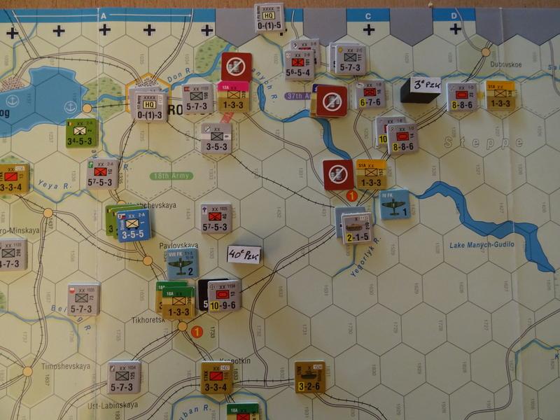 [CR] The Caucasus Campaign (GMT Games) : Drang Nacht Caucasus ! Dsc01825