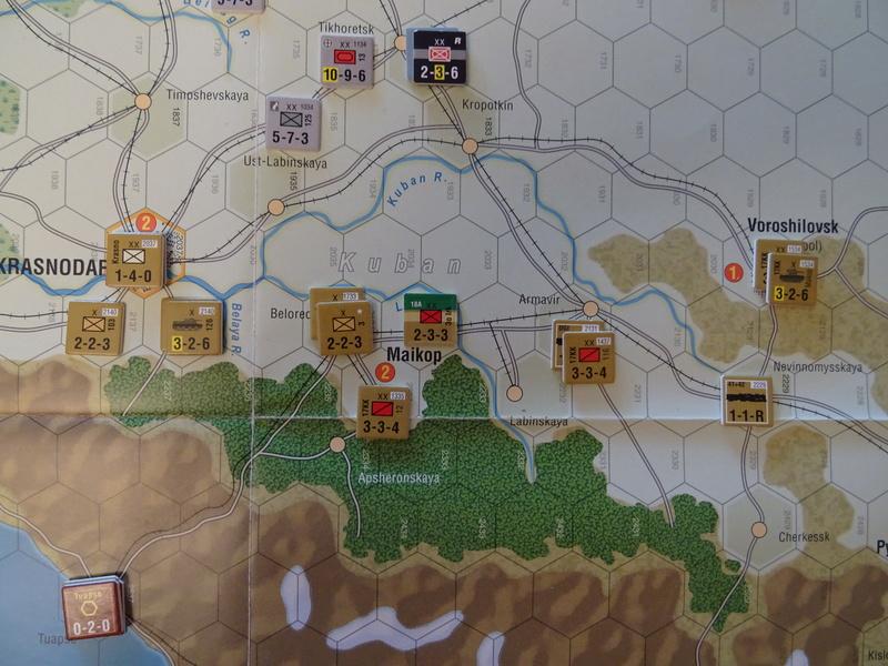 [CR] The Caucasus Campaign (GMT Games) : Drang Nacht Caucasus ! Dsc01827