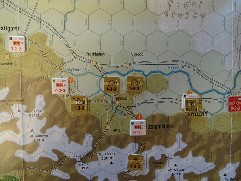 [CR] The Caucasus Campaign (GMT Games) : Drang Nacht Caucasus ! Dsc01828