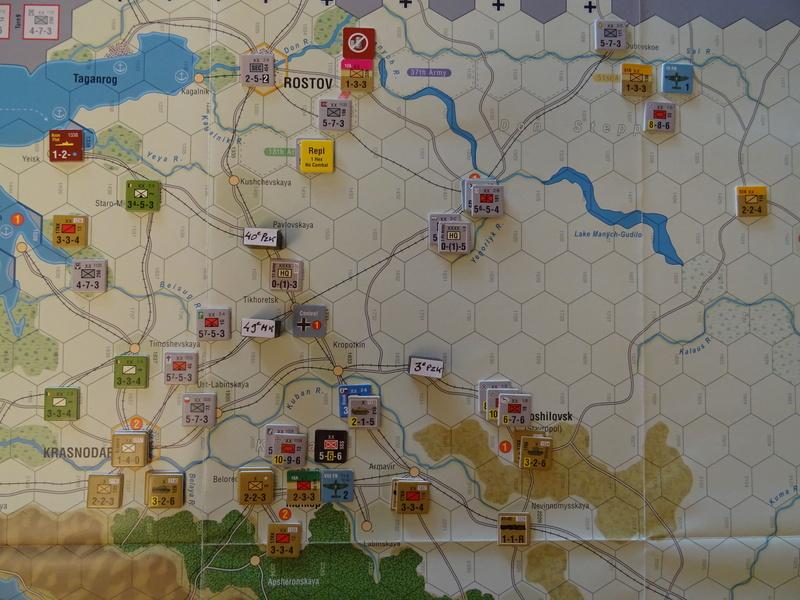 [CR] The Caucasus Campaign (GMT Games) : Drang Nacht Caucasus ! Dsc01829