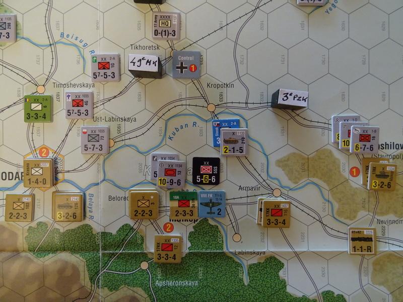 [CR] The Caucasus Campaign (GMT Games) : Drang Nacht Caucasus ! Dsc01830