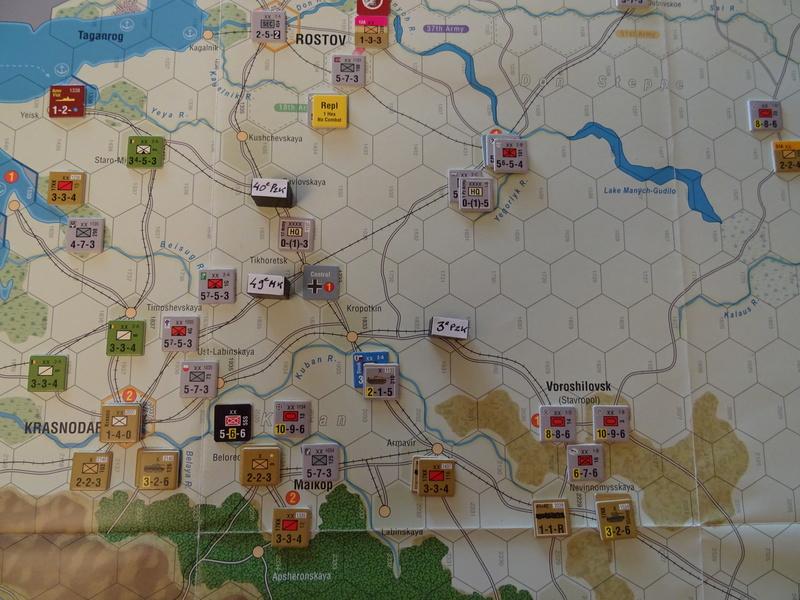 [CR] The Caucasus Campaign (GMT Games) : Drang Nacht Caucasus ! Dsc01834