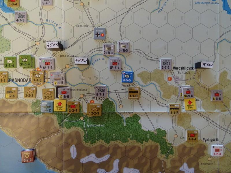 [CR] The Caucasus Campaign (GMT Games) : Drang Nacht Caucasus ! Dsc01836
