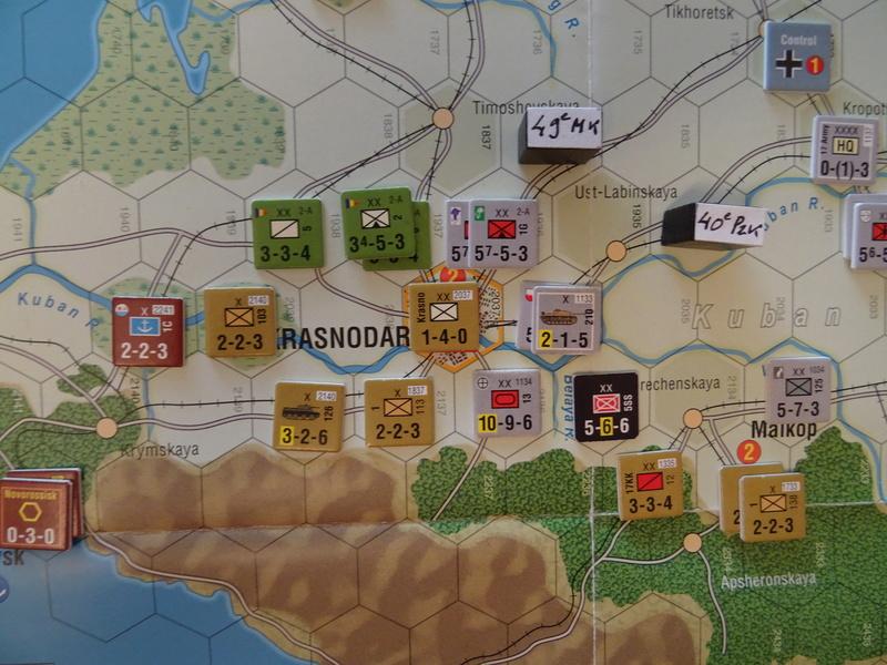 [CR] The Caucasus Campaign (GMT Games) : Drang Nacht Caucasus ! Dsc01837