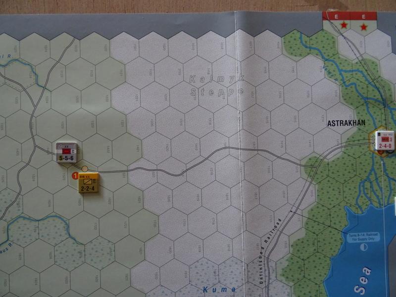 [CR] The Caucasus Campaign (GMT Games) : Drang Nacht Caucasus ! Dsc01839