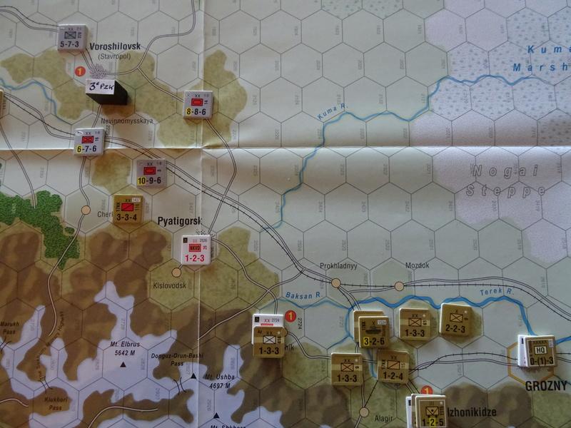 [CR] The Caucasus Campaign (GMT Games) : Drang Nacht Caucasus ! Dsc01844