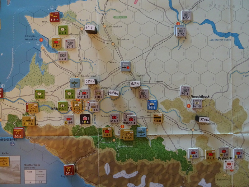 [CR] The Caucasus Campaign (GMT Games) : Drang Nacht Caucasus ! Dsc01845