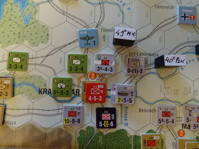 [CR] The Caucasus Campaign (GMT Games) : Drang Nacht Caucasus ! Dsc01846