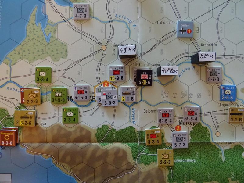 [CR] The Caucasus Campaign (GMT Games) : Drang Nacht Caucasus ! Dsc01847
