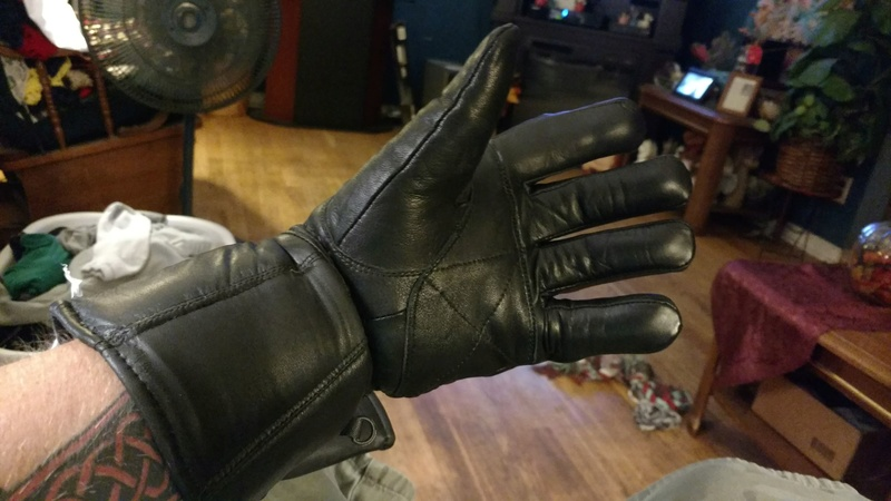 New Thinsulate Gloves to Stop Sleeve Wind Left_g11