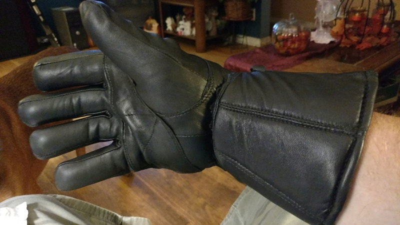 New Thinsulate Gloves to Stop Sleeve Wind Right_11