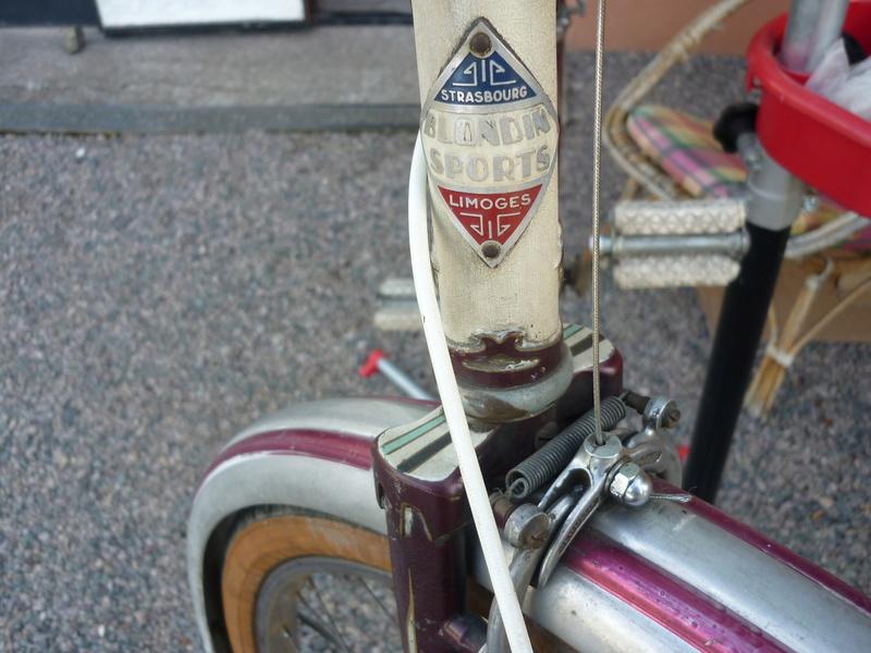 Blondin cadre berceau années 50 P1030710