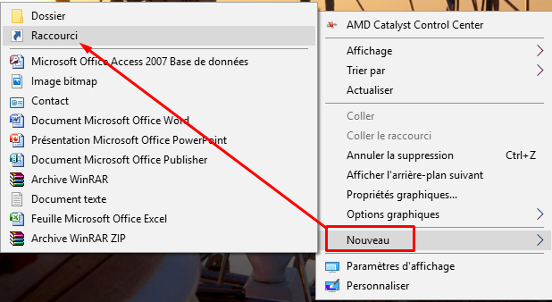 Créé raccourci Windows Update sous Windows 10 Cryy_u25
