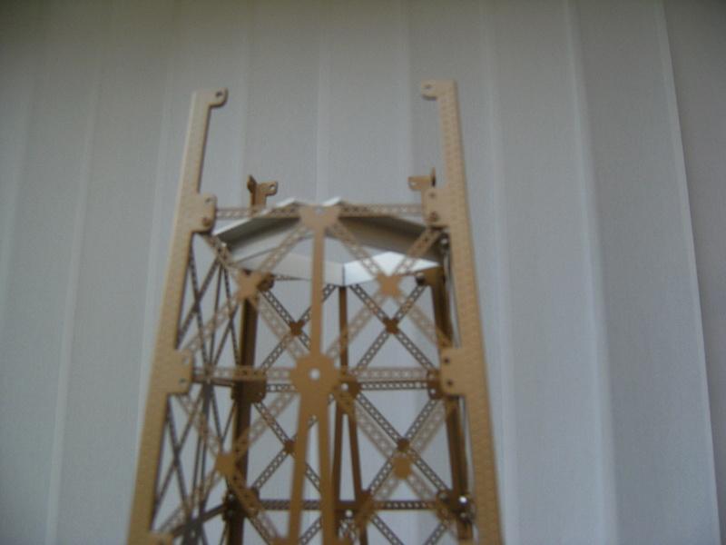 Projet de réalisation de l'étage intermédiaire entre 2ème et 3ème étage de la Tour Eiffel 07210