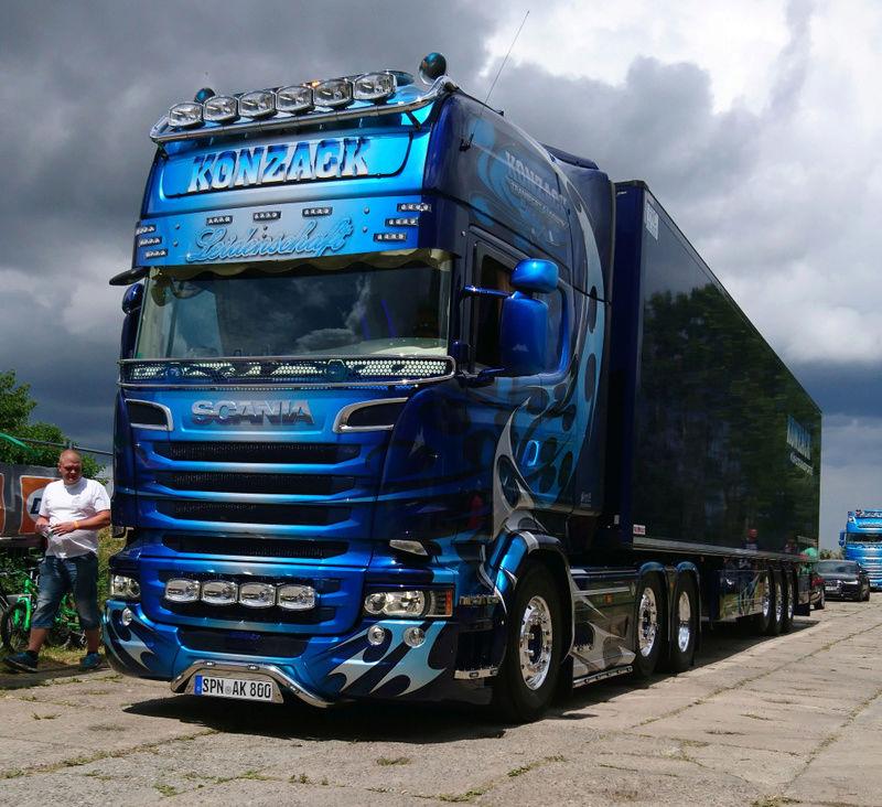 Truckertreffen Bautzen  Unbena10