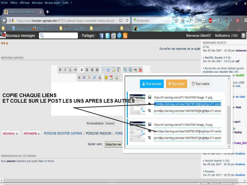 photos forum comment mettre des photos  Image312