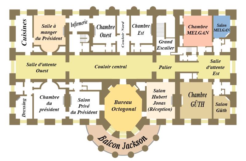 Le duc au palais présidentiel Plan_p11