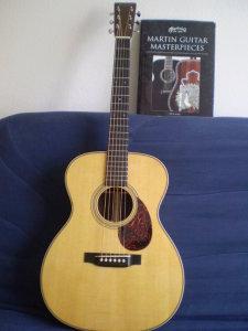 """Guitare Martin OM-28V - Année 2010 - Série """"Marquis"""" Joel_b14"""