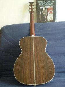 """Guitare Martin OM-28V - Année 2010 - Série """"Marquis"""" Joel_b15"""