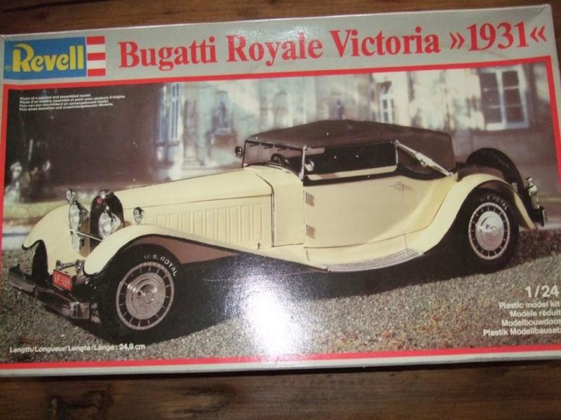 REVELL 1/24 - réf 7380 - BUGATTI ROYALE VICTORIA 1931 1-24-r10