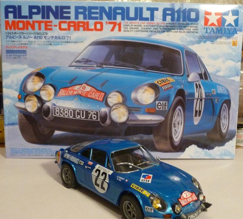 RENAULT ALPINE A 11  1971 Fin de montage - Tamiya 1/24 P1070536