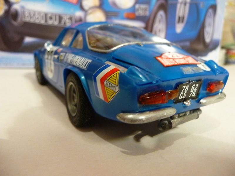 RENAULT ALPINE A 11  1971 Fin de montage - Tamiya 1/24 P1070539
