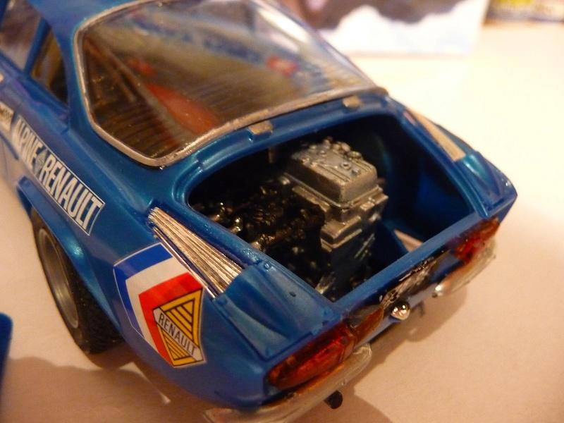 RENAULT ALPINE A 11  1971 Fin de montage - Tamiya 1/24 P1070540