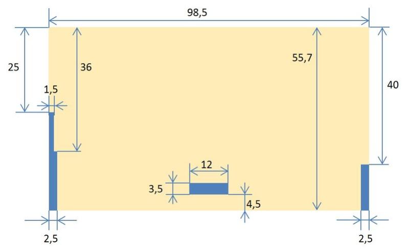 Rangement des câbles : Fabrication d'un double fond de coffre Plan_p10