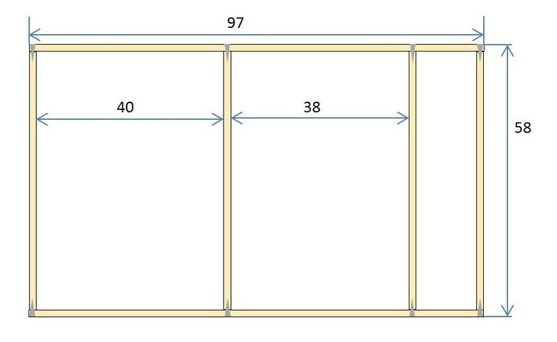 Rangement des câbles : Fabrication d'un double fond de coffre Struct10