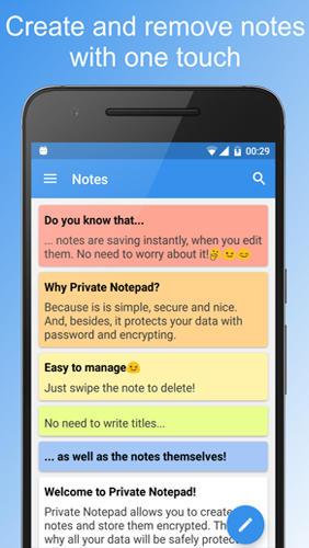 برنامج المذكرات الخاصة Private Notepad للاندرويد 3_priv10