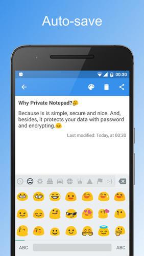 برنامج المذكرات الخاصة Private Notepad للاندرويد 4_priv10