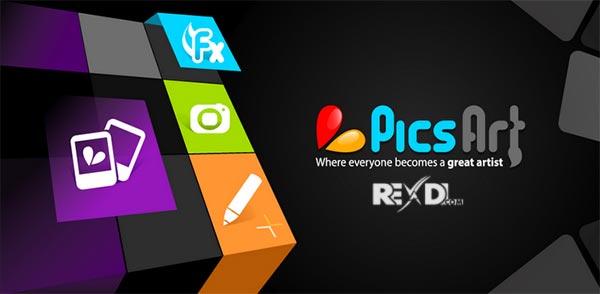 تطبيق PicsArt Photo Studio النسخه المدفوعه للاندرويد 2017 Picsar11