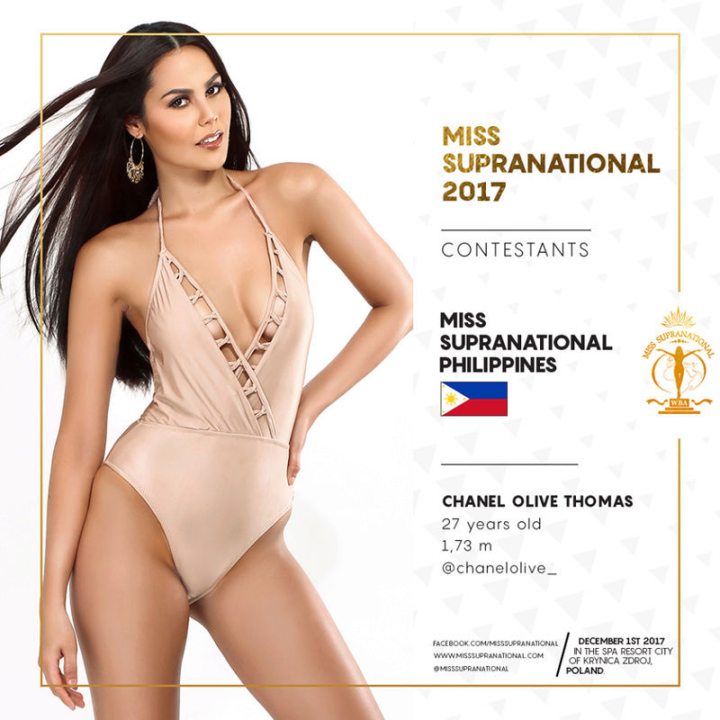 Chanel Olive Thomas (-Bb Pilipinas - Supranational 2017)  21751810