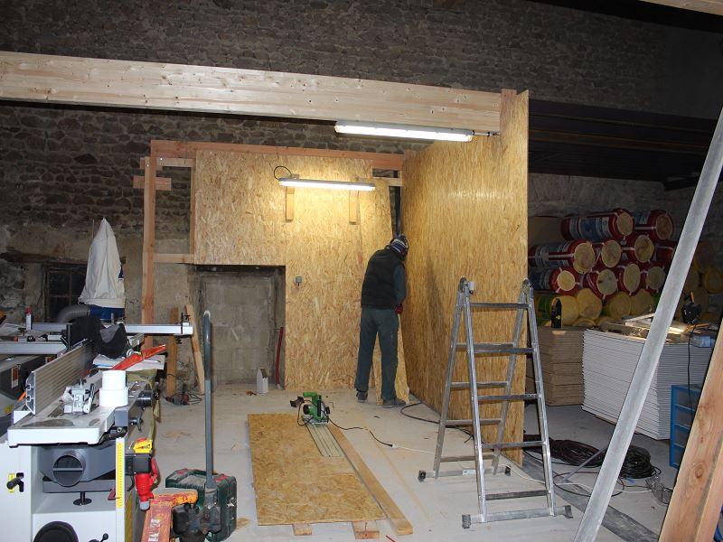 Nouvelle maison, nouveau atelier, nouvelles machines, récap' d'1 an de boulot 3211