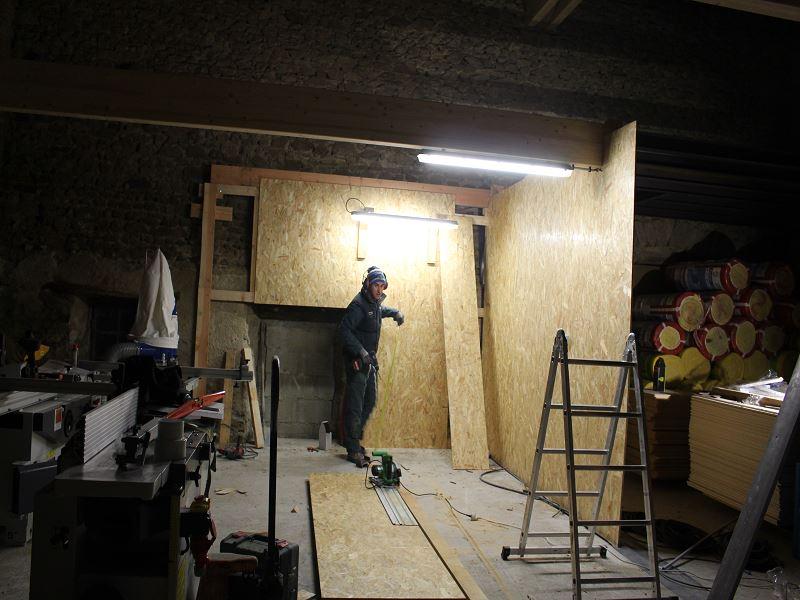 Nouvelle maison, nouveau atelier, nouvelles machines, récap' d'1 an de boulot 3311
