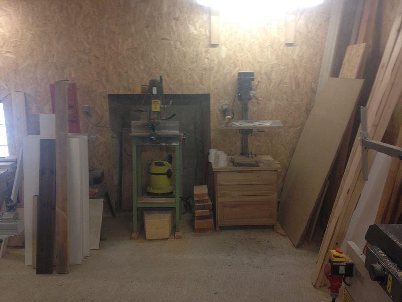 Nouvelle maison, nouveau atelier, nouvelles machines, récap' d'1 an de boulot 8410