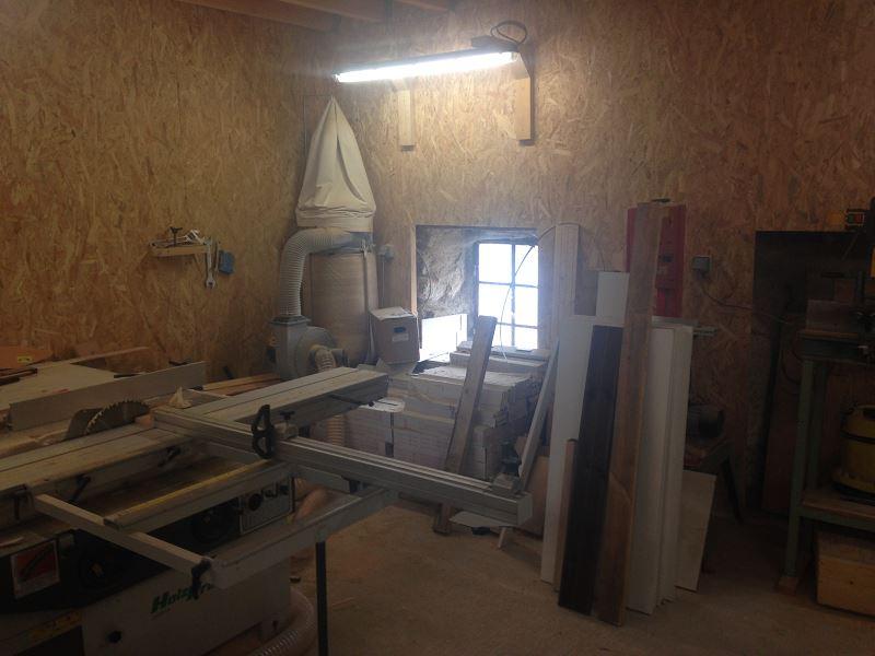 Nouvelle maison, nouveau atelier, nouvelles machines, récap' d'1 an de boulot 8510