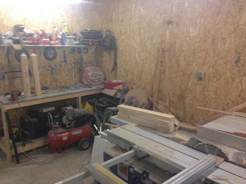 Nouvelle maison, nouveau atelier, nouvelles machines, récap' d'1 an de boulot 8610