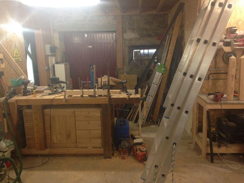 Nouvelle maison, nouveau atelier, nouvelles machines, récap' d'1 an de boulot 8710