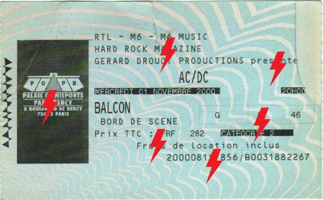 2000 / 11 / 01 - FRA, Paris, Palais Omnisport de Paris Bercy 01_11_10