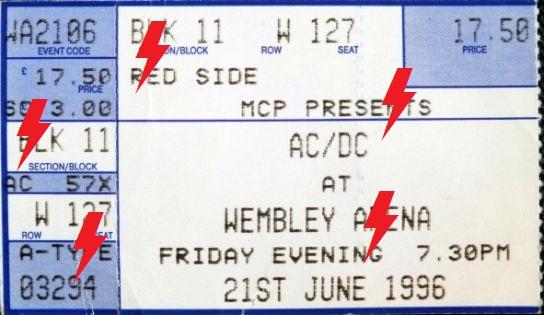 1996 / 06 / 21 - UK, London, Wembley Arena 21_06_11