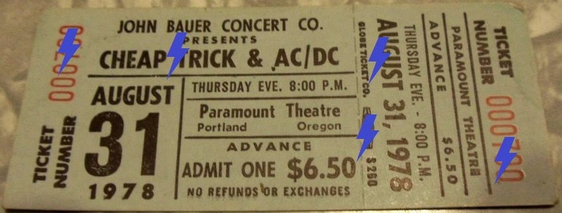 1978 / 08 / 31 - USA, Portland, Paramount Theatre 31_08_10