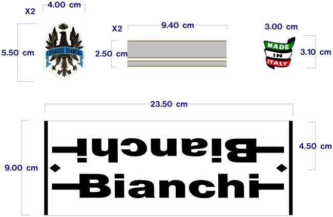 BIANCHI à partir de 1980 Visuel10