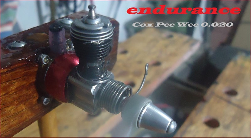 *Cox Engine of The Month* Submit your pictures! -August 2017- Endura10