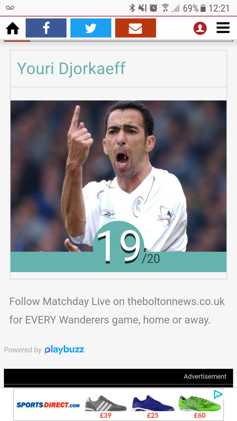 Bolton Wanderers QUIZ Screen14