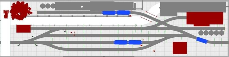 Petit réseau modulaire industriel voie K tranportable Rangie13
