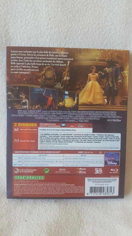 [BD 3D + BD + DVD] La Belle et la Bête (23 août 2017) - Page 7 20170811